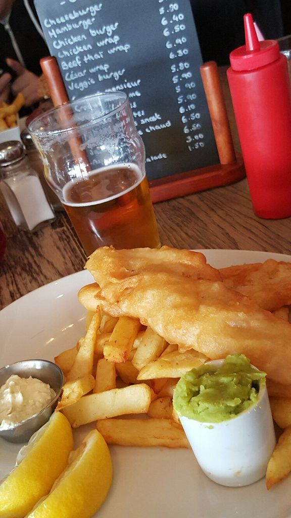 Fish and chips irlandais !