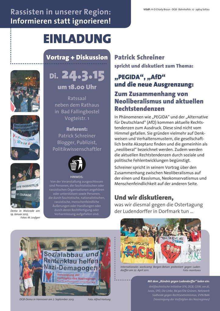 Bad Fallingbostel 24.3.15 - Vortrag Pegida-AfD-Neoliberalismus