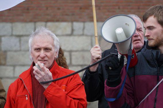 80 Leute bei 2.Protesttag gegen Ludendorffer