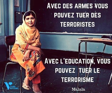 Malala : Prix Nobel de la paix