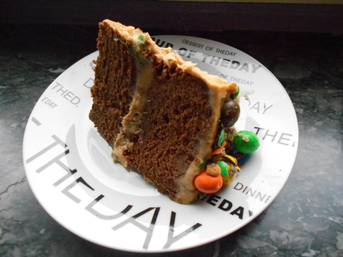 layer cake m&amp&#x3B;m's