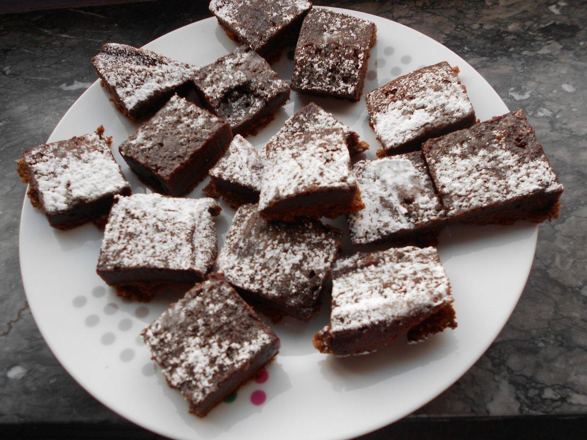 2 ingrédients 1 gateau carrés au nutella