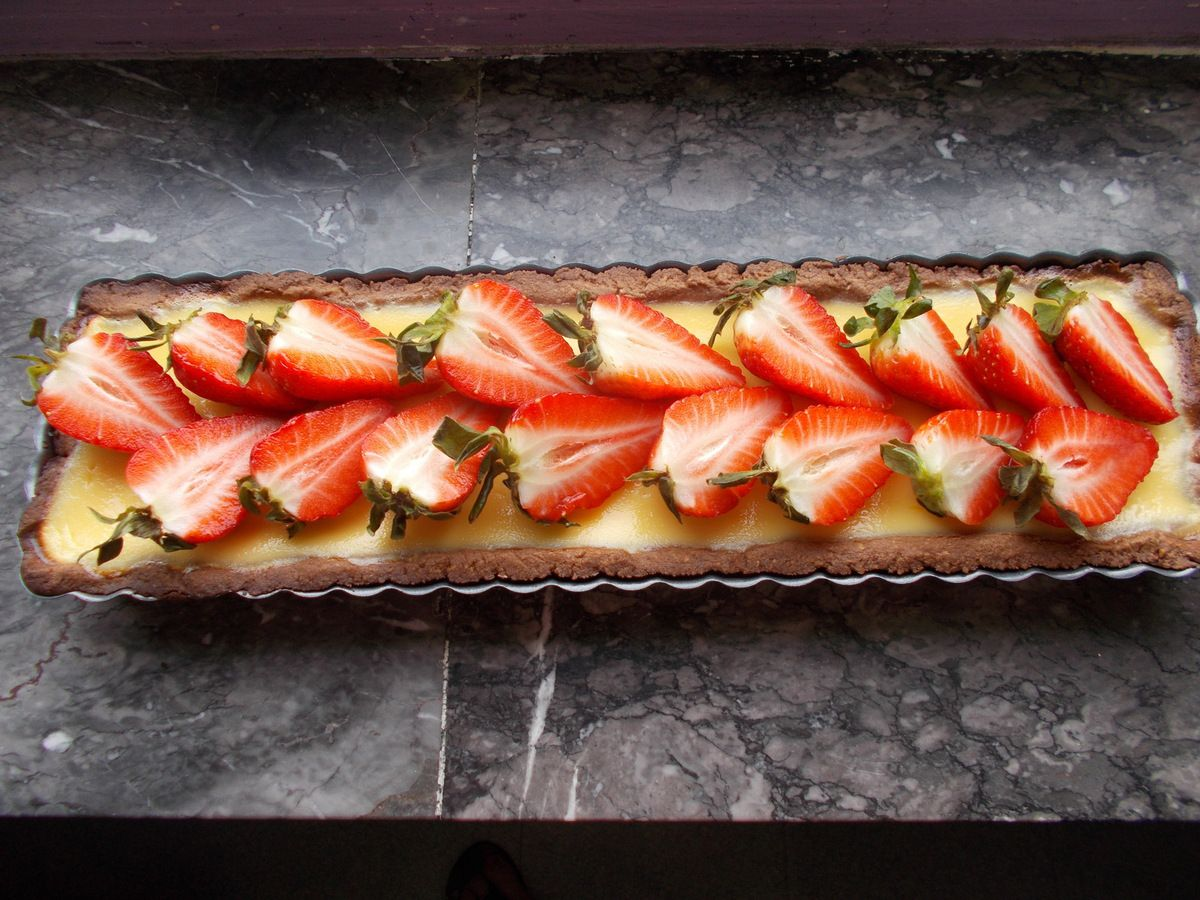 tarte cheesecake