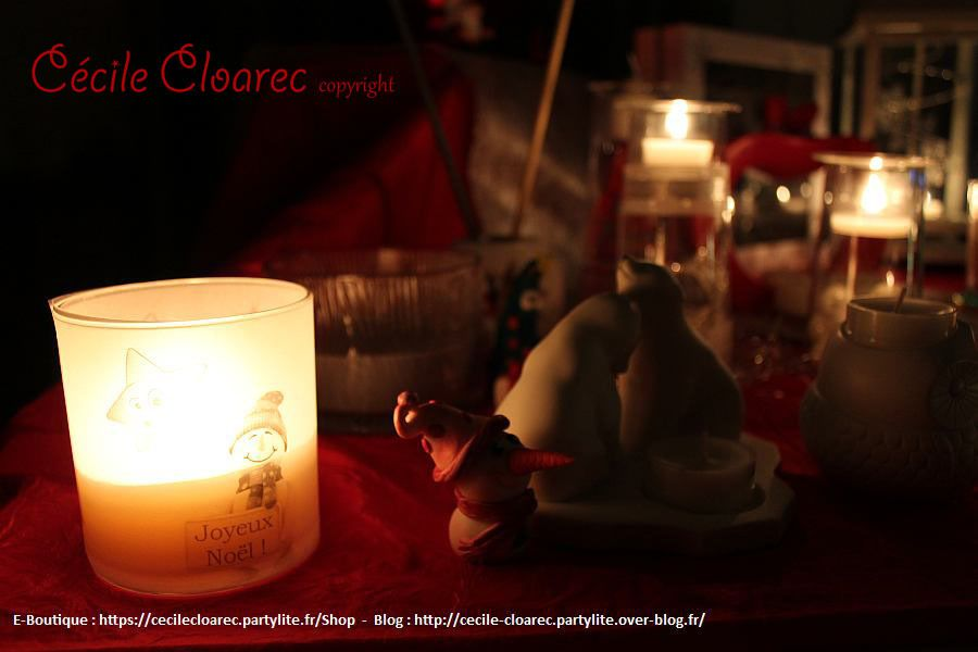 Table de Noël Rouge : en PHOTOS