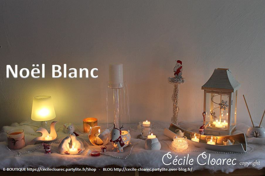 Table de Noël Blanc : en PHOTOS