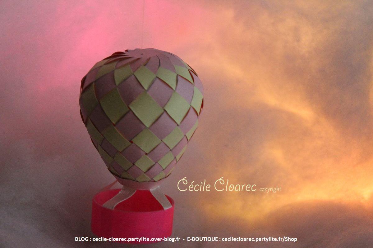 Tuto Atelier Récup DIY : Bougie réchaud en montgolfière