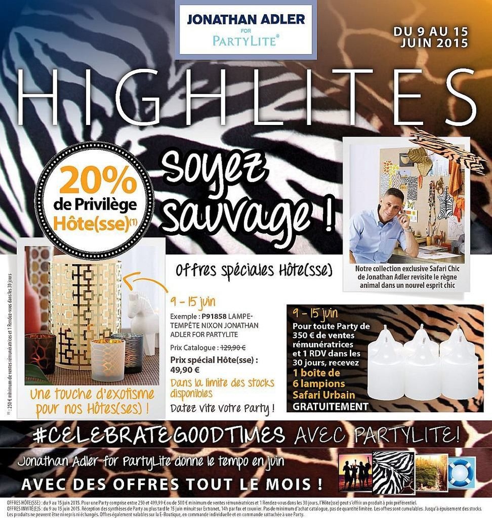 Promotions Hôte(sse) : Juin 2015