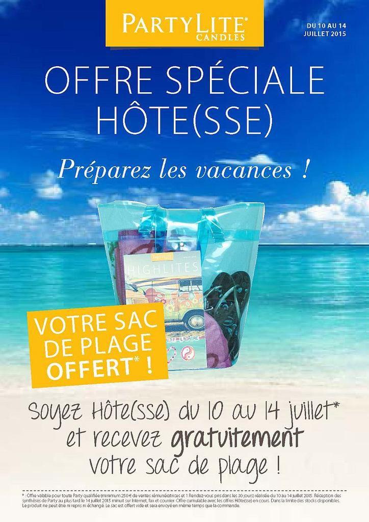 Promotions Hôte(sse) : Juillet 2015