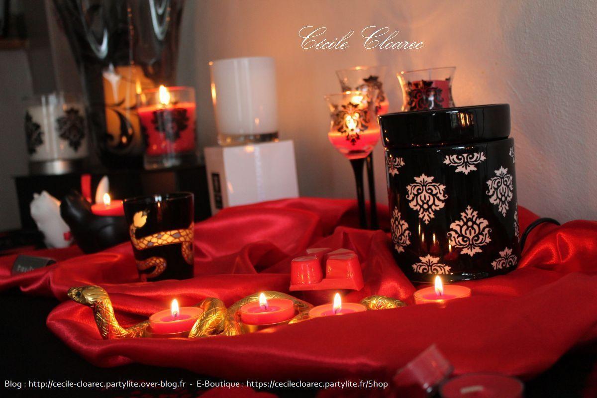 Table déco Glamour et Valentine : Février 2016
