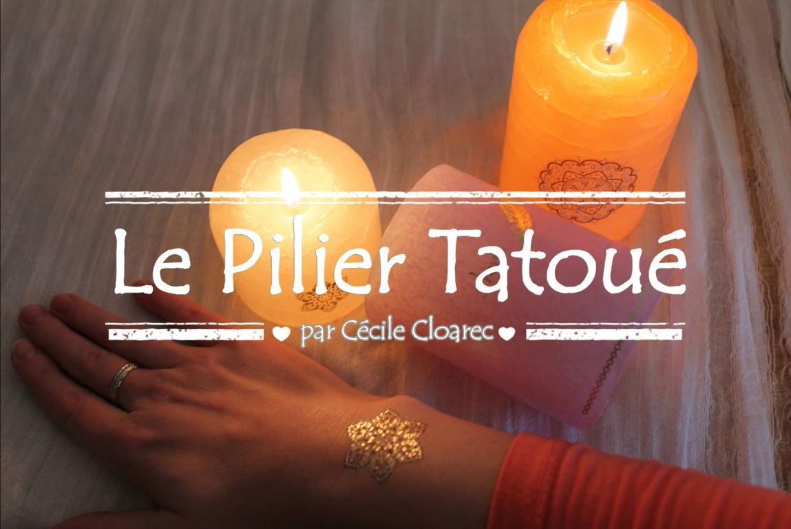 Tuto DIY : Le pilier tatoué personnalisé ! VIDEO
