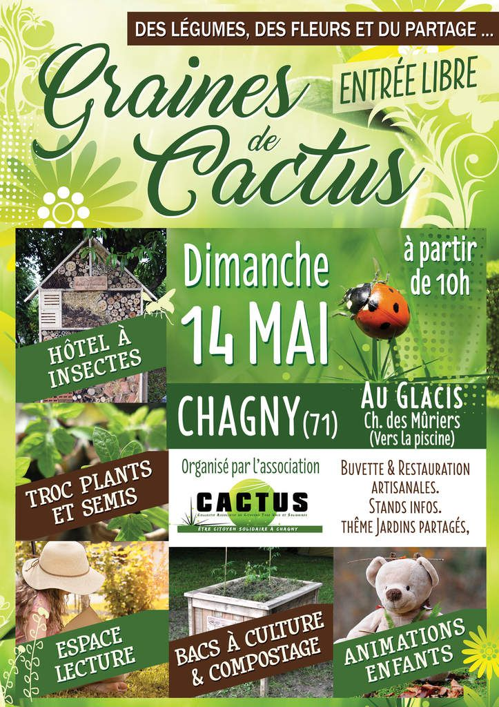 14 mai 2017 - Association CACTUS à Chagny (71)