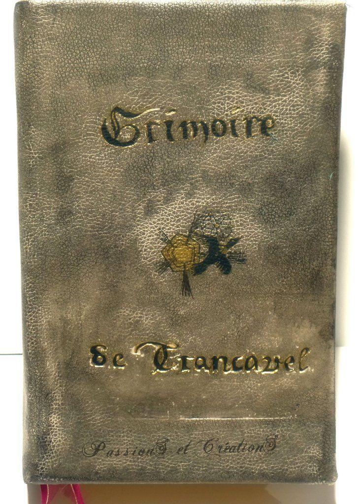 Livre - Grimoire - Vintage - Boite - Cadeau - Fête des Mères - 2016 -  Recette volante
