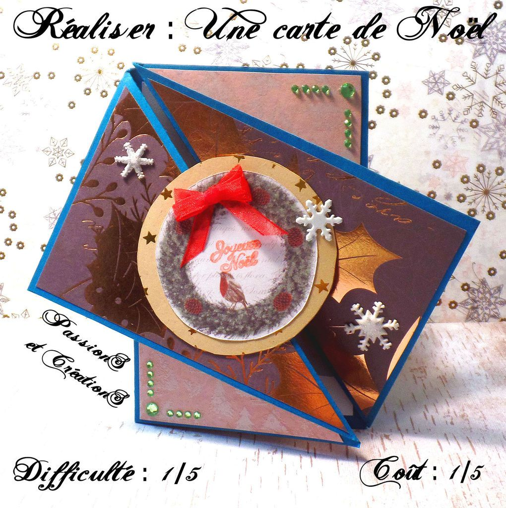 Carte Image Noel.Youtube Tutoriel D Une Carte De Noel Passions Et