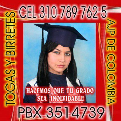 Togas y birretes Bogotá pbx3514739ce3107897625