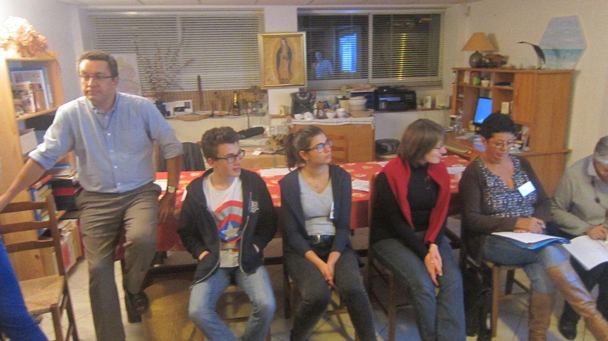 Week-end Décisif pour les volontaires MAD - Déc2015