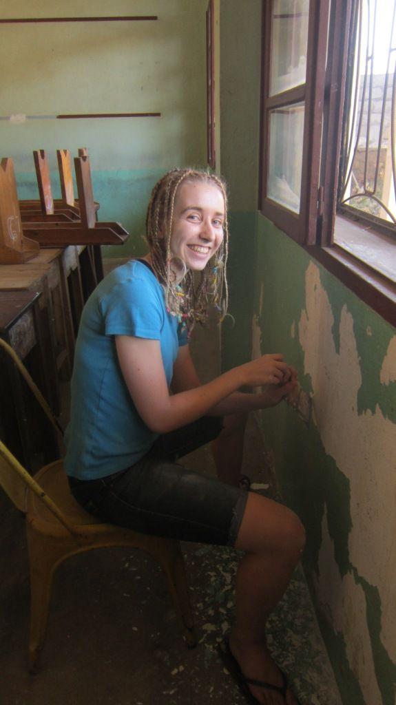 La peinture à l'huile c'est bien difficile mais c'est bien plus beau que la peinture à l'eau !!!!