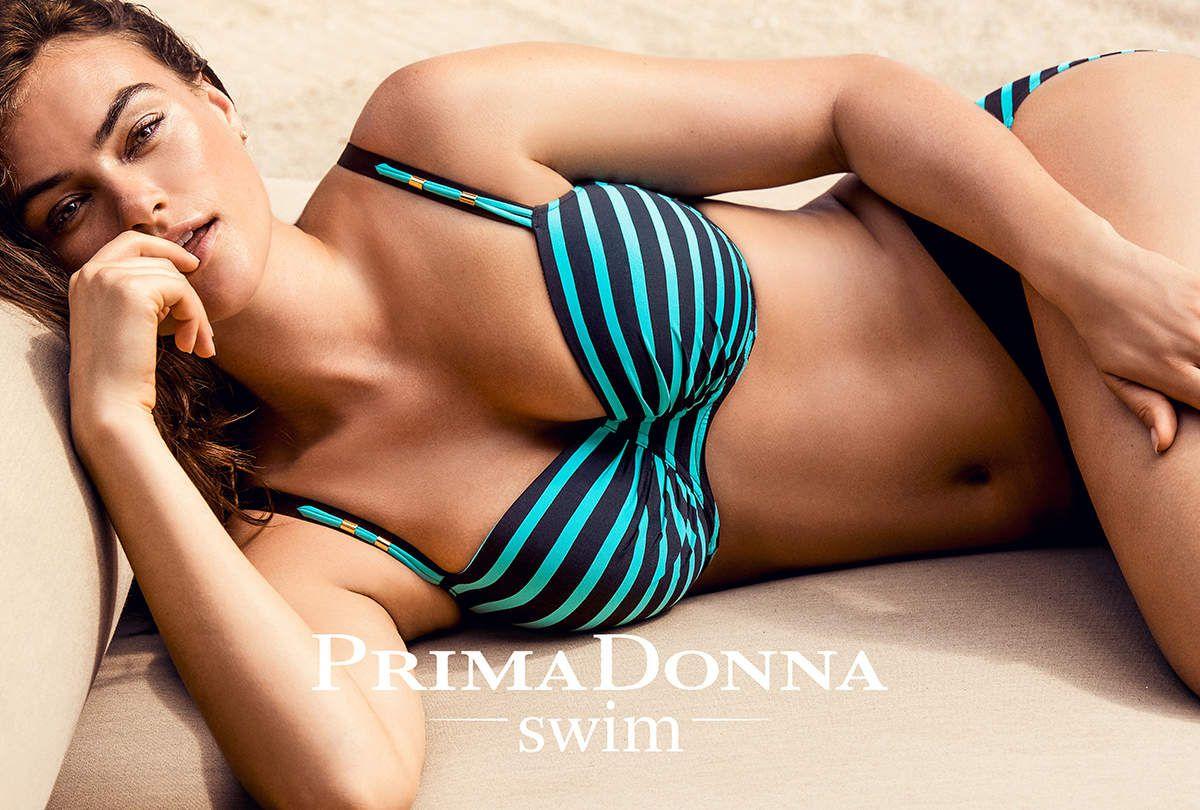 THE HOTTEST! Bikini Puerto Rico. Der zeitlosen Marine-Look lässt Sie in Gedanken in See stechen.
