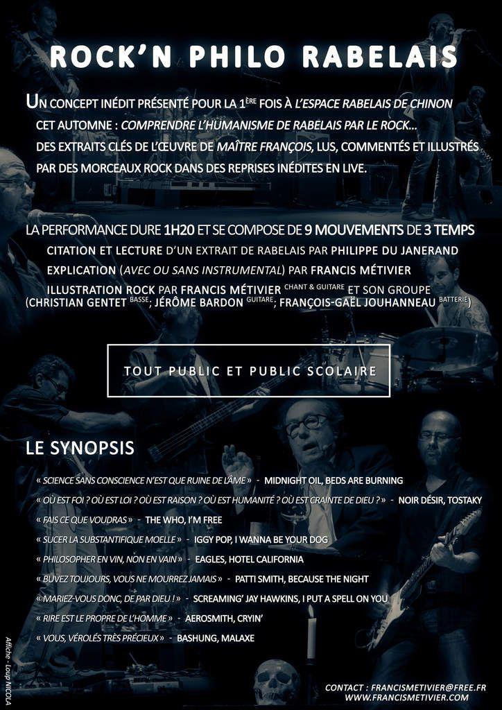 Rock'n philo live spéciale Rabelais