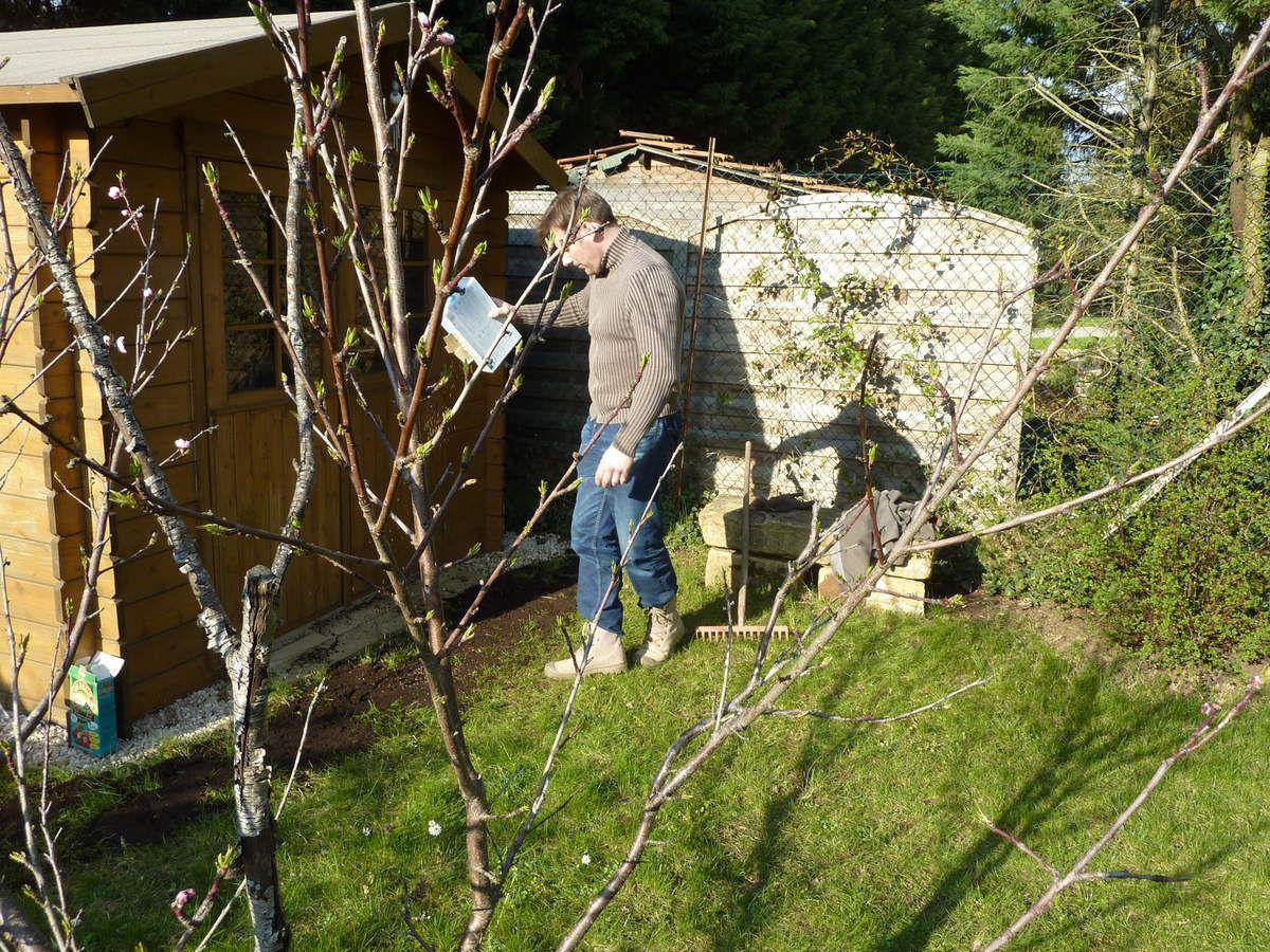 12 avril 2015 nettoyage du jardin et plantations blog - Nettoyage du jardin ...