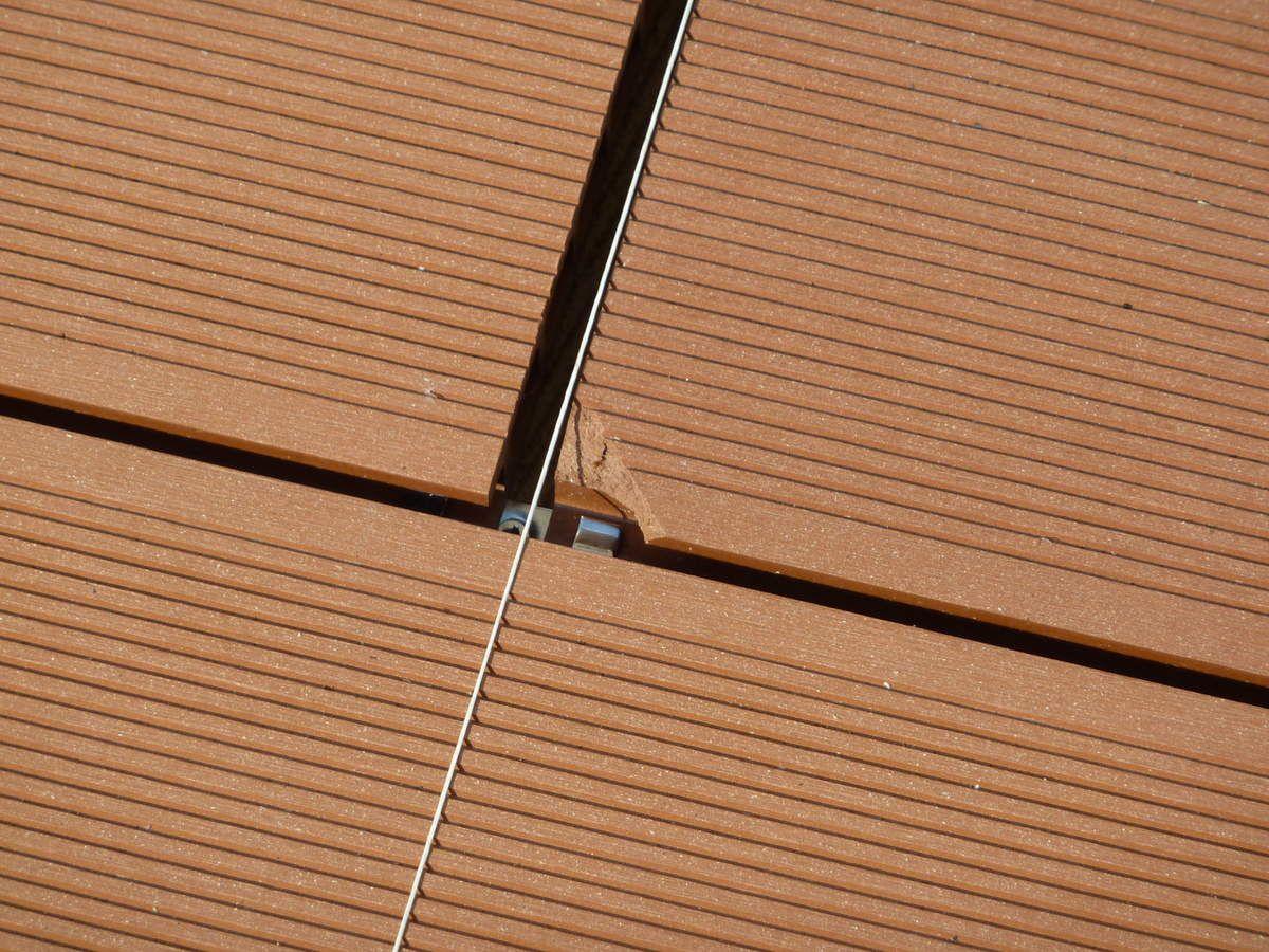 15 Juillet 2015: Terrasse En Composite Sur Plots Réglables ...