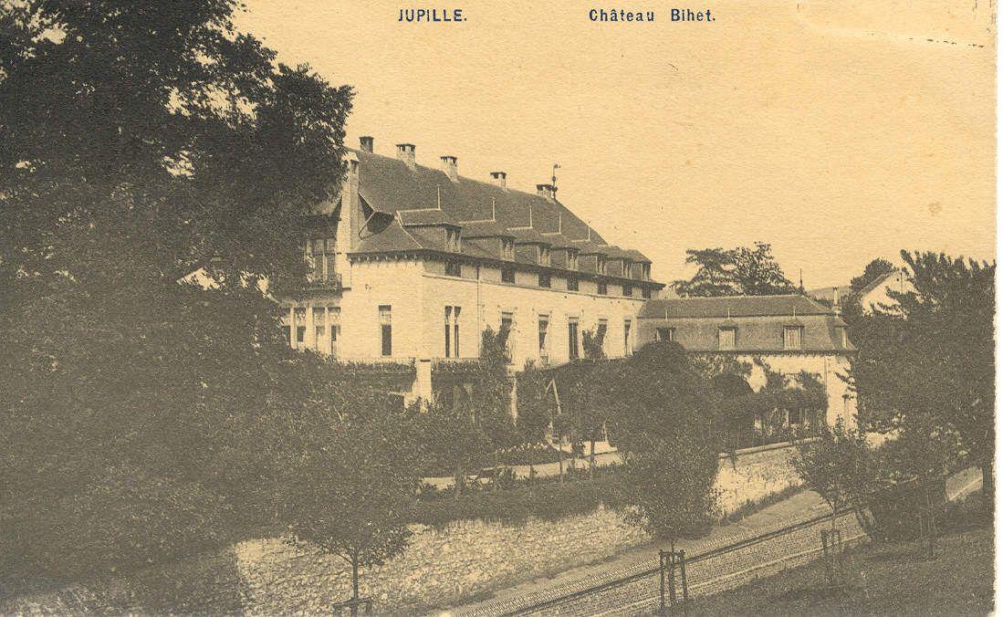 le château Bihet en 1910