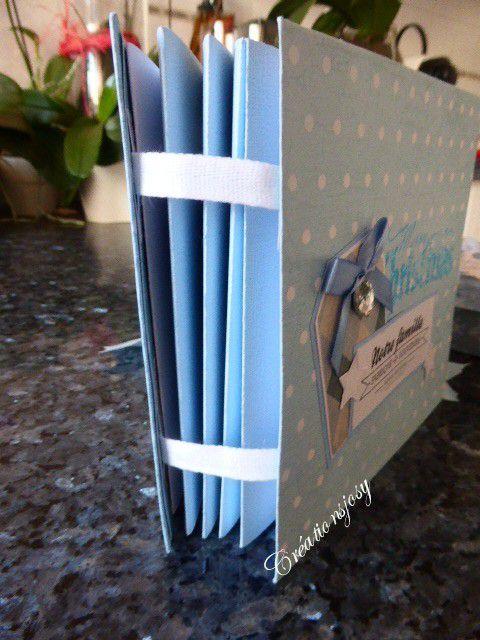 mini album étoile et sa boite