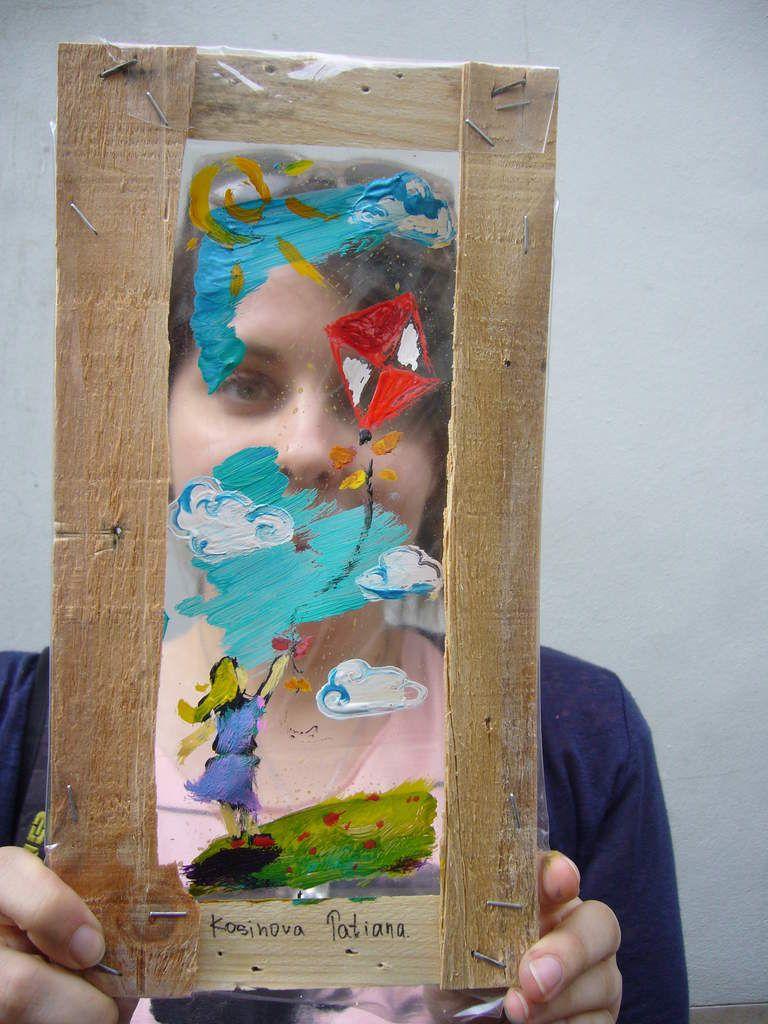 atelier de création &quot&#x3B;Fenêtres pas sages&quot&#x3B; pendant les AAB