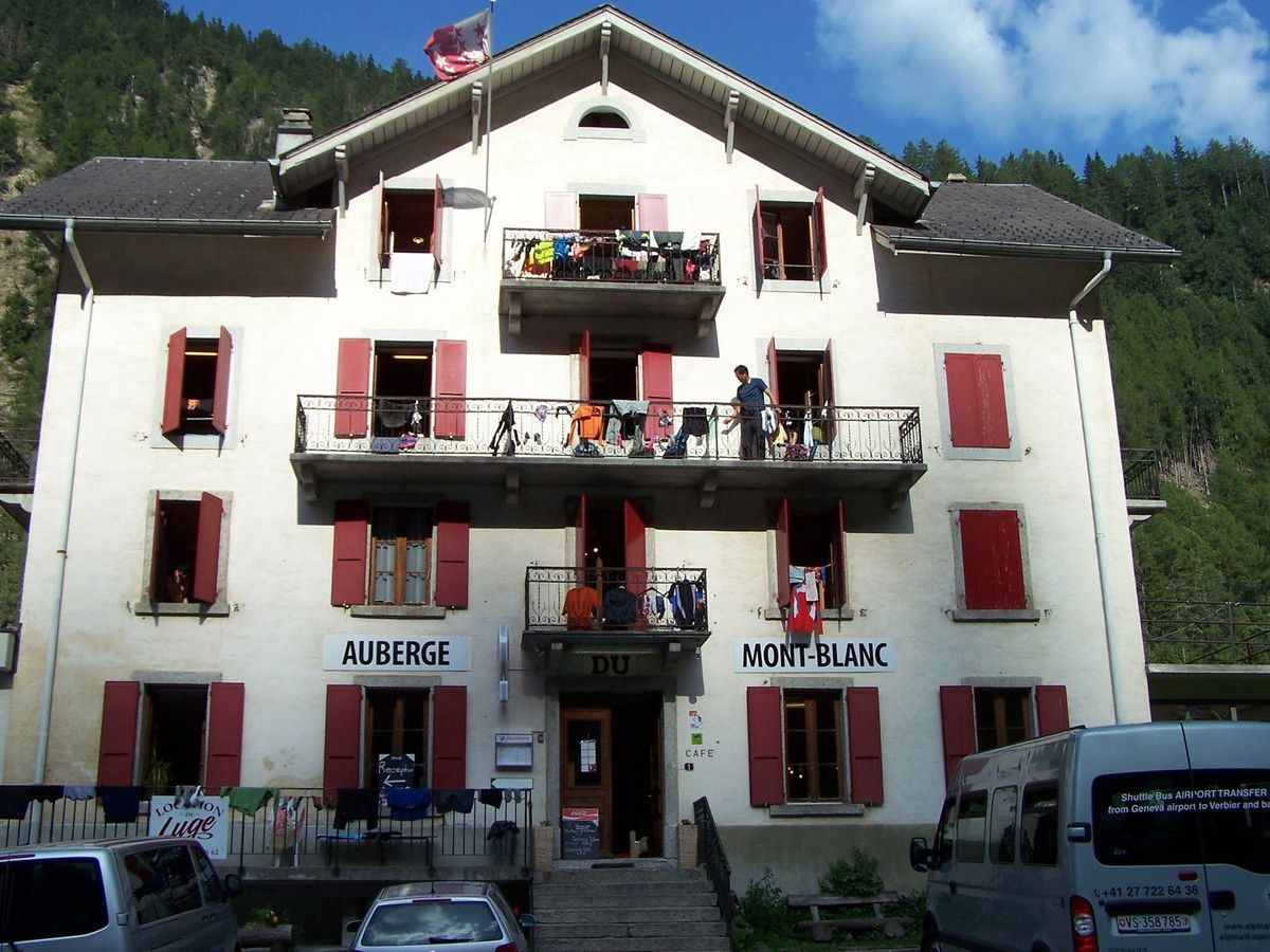 L'auberge du Mont-Blanc