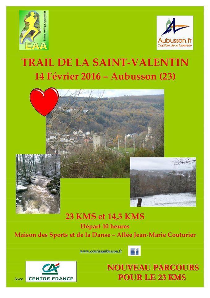 Trail de la Saint-Valentin Aubusson