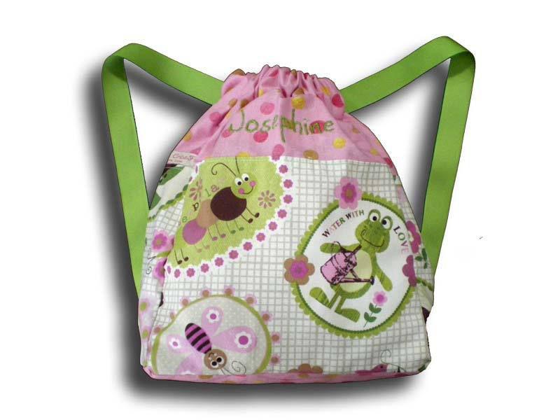 Cadeau Enfant Personnalisé - Sac à dos Fille - CréaFlo