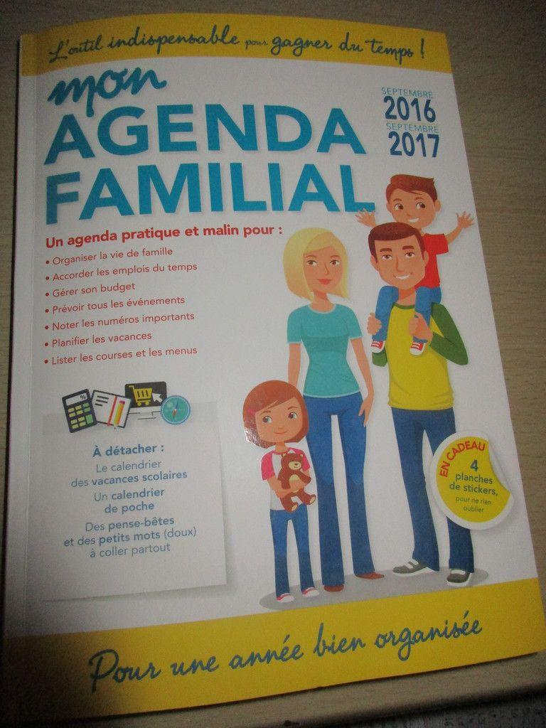 Mon nouvel agenda familial