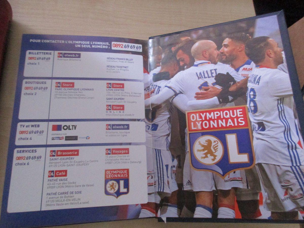 L'Agenda officiel Olympique Lyonnais