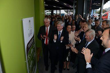 04/10/2014: Inauguration de la Maison du Marais.