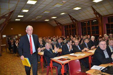 20/01/2014: Réélection à la présidence du Parc