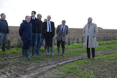 16/10/2014 : Inauguration travaux hydraulique douce à Tournehem-sur-la-Hem