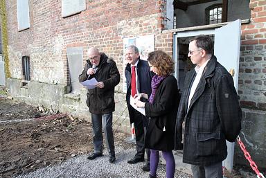 25/02/2016: Première pierre pour le siège de la Communauté de Communes CCTP/ Hervé Poher