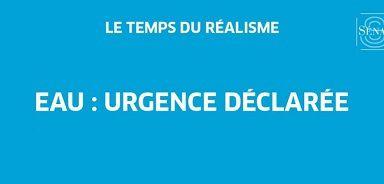 19/10/2016: Débat sur l'eau, urgence déclarée/ Hervé Poher