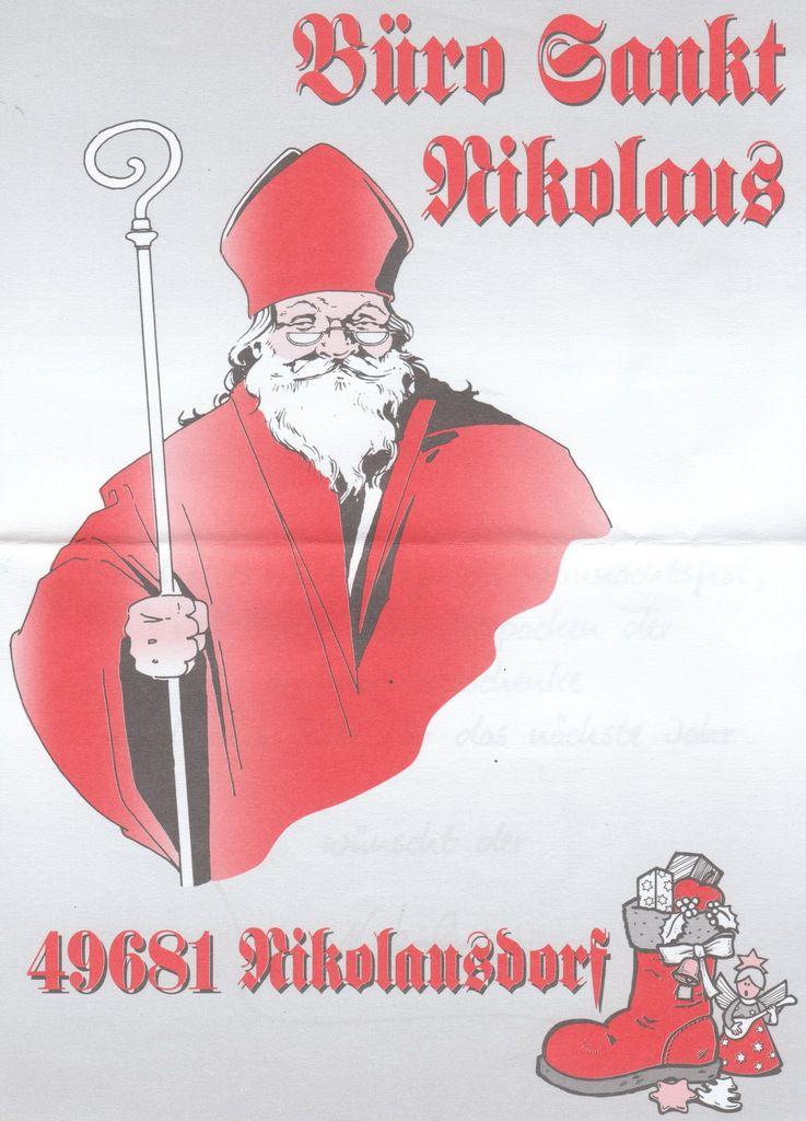 L'entrée de saint Nicolas, décrite par Franz Schroller 1885
