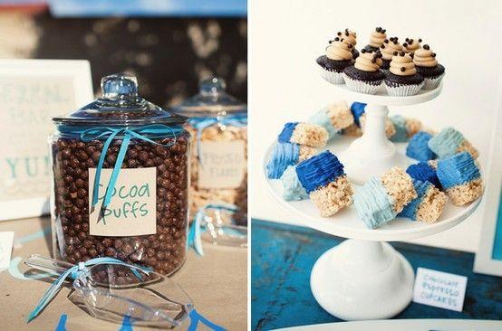 7 Desserts de bapteme a disposer sur votre Candy Bar