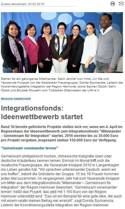 Region Hannover informiert