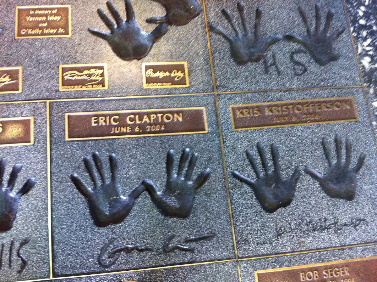 Guitar walk of fame