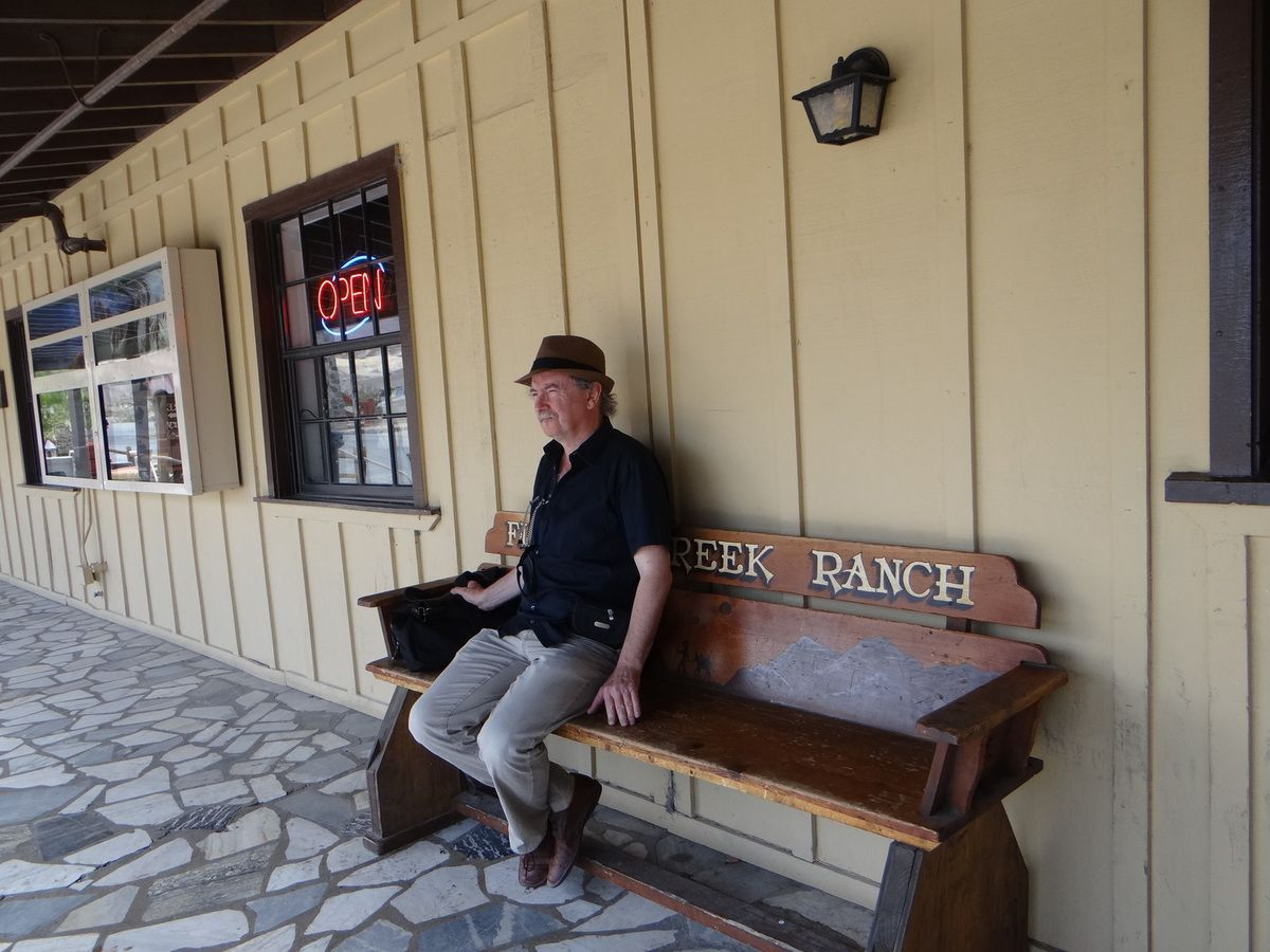 Le ranch Furnace Creek. En dehors du temps