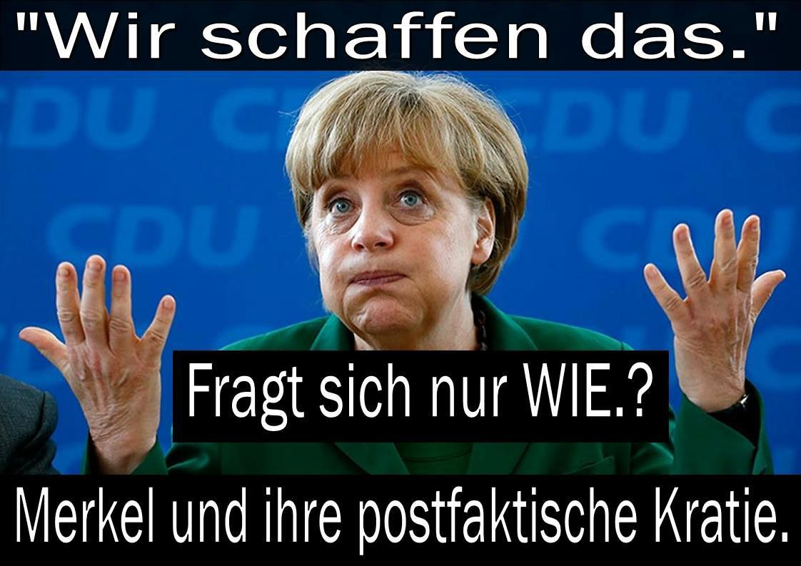 MERKEL POST-FAKTISCH