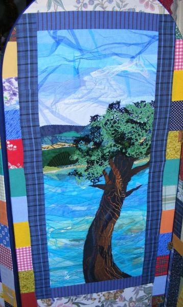 Vive la récup'...suite. Art textile.