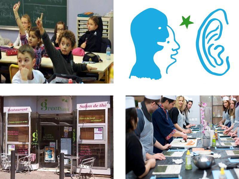 Ateliers du samedi : Esperanto, enfants et sushi