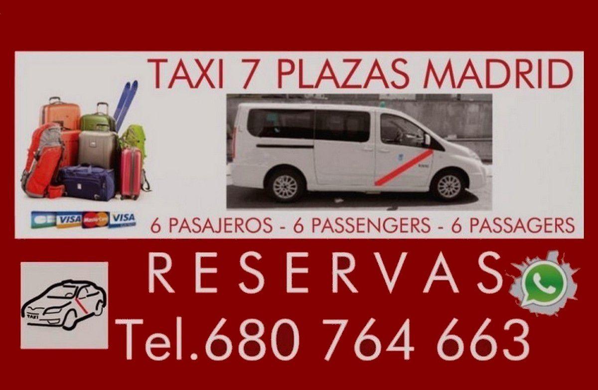 TAXI RESERVA MADRID
