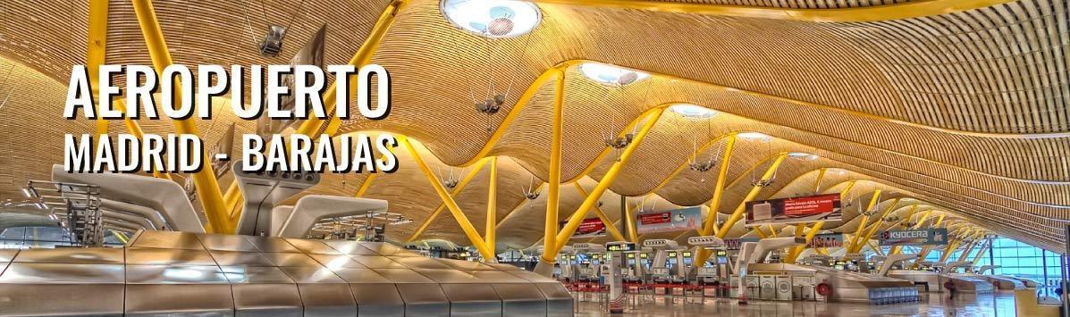 Aeropuerto de Madrid-Barajas Adolfo Suárez TARIFA 30€