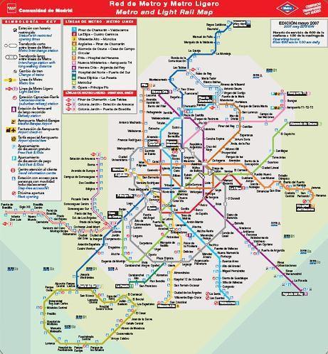 Que Estaciones Aparecen En Un Plano De Cercanias De Renfe Y Metro
