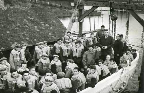 L'ACNAM, c'était un chantier naval à Château-du-Loir