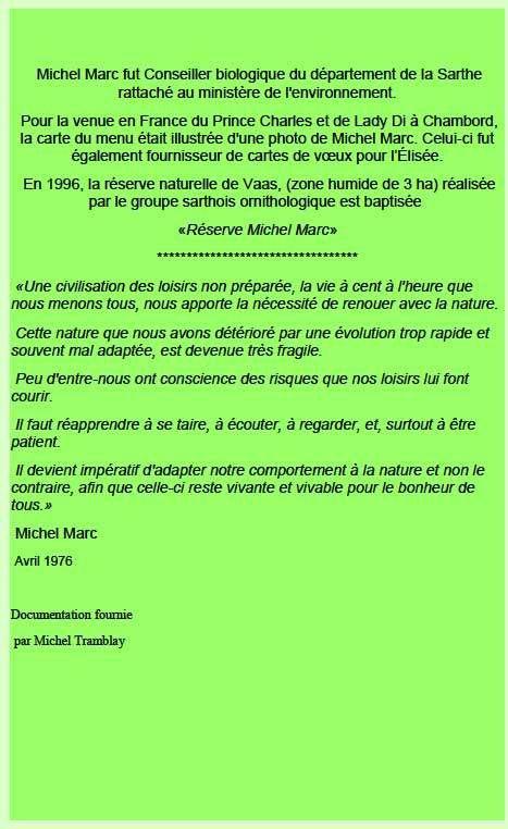 Michel Marc, photographe animalier